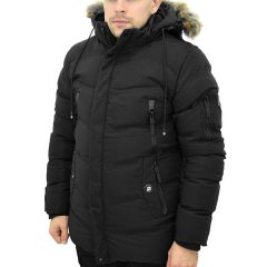 Zimska jakna za skijanje lažno krzno
