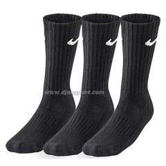 Čarape 3para/crna pamuk